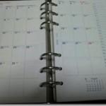 システム手帳「Bindex 2013年月間9」導入。